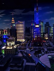 Tokyo cityscape - all created by LEGO @Legoland in Tokyo. EyeEm Never Will Give Me A Prize For This Shot, But It's Pretty Cool For Me! Japan Streetphotography (park_joe1) Tags: tokyo cityscape lego odaiba legoland