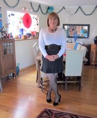 White top (Trixy Deans) Tags: hot cute sexy tv highheels legs cd crossdressing tgirl tranny transvestite heels transgendered miniskirt crossdresser crossdress skirts tg miniskirts trixydeans skirt legs sexytransvestite