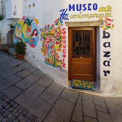Museo arte contemporanea (haelio) Tags: sardegna street italy art museum square sardinia burgos canon1740mm fultrawide cameracanon5d2