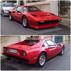 Ferrari 208 (Justin__Case) Tags: red italy car sport italian italia malta ferrari collection tax ta rosso malte 208 taxbiex biex xbiex uploaded:by=flickrmobile flickriosapp:filter=nofilter