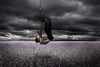 10/365 (Christopher Lee Gardner) Tags: selfportrait art fall alone hangman surreal rope falling hanging forever concept conceptual noose
