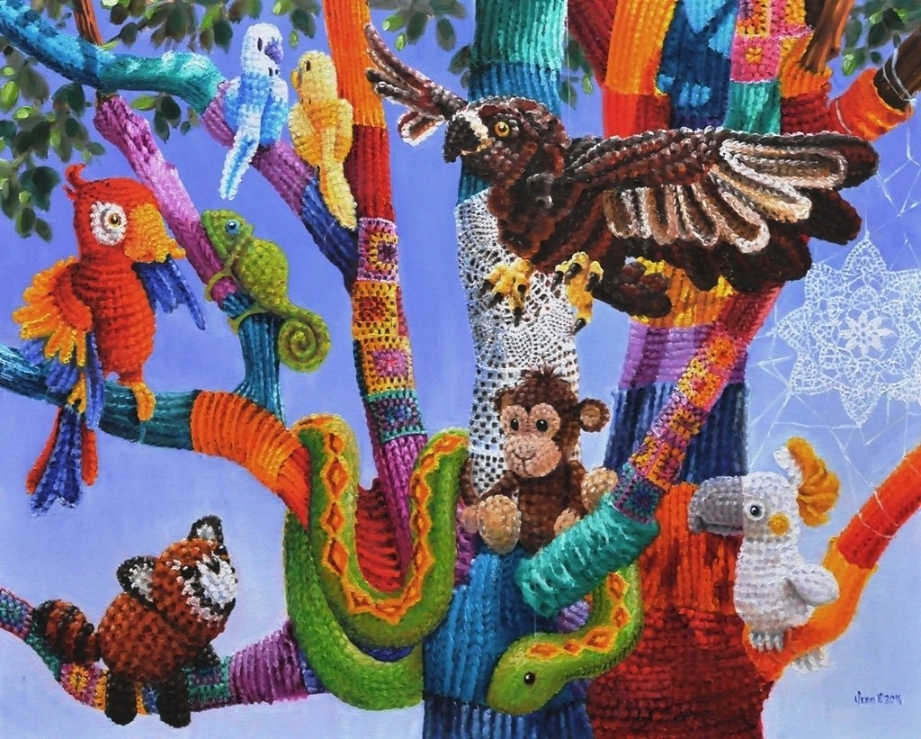 Knitting Trees Art : The world s best photos by vera cauwenberghs flickr hive