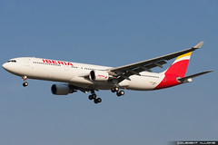 Iberia Airbus A330-302 cn 1507 F-WWKG // EC-LZX (Clment Alloing - CAphotography) Tags: test cn canon airplane airport aircraft flight airbus toulouse airways aeroport aeropuerto blagnac spotting tls iberia 1507 100400 a330302 lfbo fwwkg eclzx