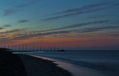 Cocksdorp, Texel. (Romar Keijser) Tags: sunset sky sun beach netherlands dutch clouds strand island coast wadden waddeneiland sand nederland noordzee wolken zee lucht texel zand eiland kust