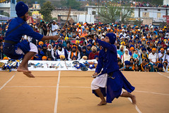 Hola Mohalla (iamShishir) Tags: india sahib punjab holi hola anandpur anandpursahib ropar holamohalla mohalla