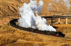 【组图】大学生摄影作品:克什克腾旗的蒸汽机车
