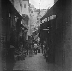 ( . ) Tags: bw film israel blackwhite jerusalem kiev88 ilfordhp5plus caffenol flickrandroidapp:filter=none