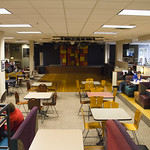 "<b>Dining Services Rennovation.</b><br/> Photos depicting the newly rennovated dining options. <a href=""http://farm4.static.flickr.com/3667/13871976135_284e9c28c5_o.jpg"" title=""High res"">∝</a>"