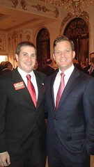 Congressional candidate Joe Kaufman with Lieutenant Governor Carlos Lopez-Cantera