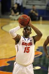 Will Yeguete makes Both Free Throws (dbadair) Tags: basketball war university eagle florida gators auburn tigers sec uf 2014