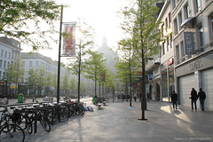 Antwerpen morning (gráce) Tags: street city morning light architecture cityscape belgium streetlife streetscene streetscape antwerpen