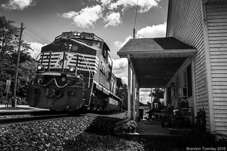 Norfolk Southern on the Front Porch