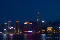 Hong Kong City Night View (akira.nick66) Tags: city nightphotography light night pond cityscape nightscape colorfullights nightscene nightview roads macau cityview nightcity colorofthelights