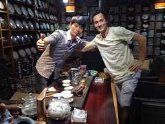 Dégustation de thé à Lijiang