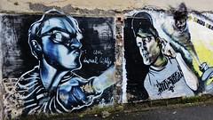 Skul, Derm, ... / - 22 juni 2015 (Ferdinand 'Ferre' Feys) Tags: gent ghent gand belgium belgique belgië streetart artdelarue graffitiart graffiti graff urbanart derm skul klaasvanderlinden urbanarte arteurbano ferdinandfeys
