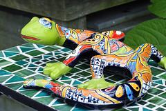 Gecko1a (xk8jag2000) Tags: gardens brooklyn ceramic botanical gecko wowiekazowie