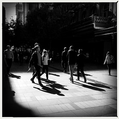 A day in the life (Albion Harrison-Naish) Tags: sydney streetphotography australia newsouthwales unedited iphone pittstreetmall mobilephotography iphoneography sydneystreetphotography hipstamatic aobwfilm iphone5s lowylens albionharrisonnaish
