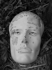 The Faces of the Eden Project (6M) - 13 February 2017 (John Oram) Tags: face edenproject cornwall mono bw 2002p1150043m