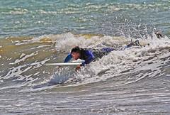 Ny surfare 1 (Quo Vadis2010) Tags: westcoast västkusten kattegatt hallandslän halland municipalityofhalmstad halmstadkommun halmstad sandhamn görvik cityofsurfers wavesurfing wavesurf vågsurfing vågsurf surfing surf vågor våg sea hav beach strand surfbräda bräda sport activity aktivitet lifestyle livsstil se