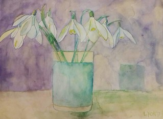 #artwithnorules #spring #mood #flowers #snowdrops 2017🌿�🌞😇
