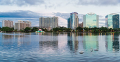 Lake Eola (DelensMode Thank You for 380,000+ Views) Tags: city longexposure trip travel blue trees vacation urban cloud white reflection tourism fountain children landscape orlando tour married slow with purple florida tripod sigma palm porn shutter bower vangaurd d600 mafrotto samyang ishootraw tourest rokinon d700 nikonguy d7000 blackrapid placestoshoot cityporn howtoshootlongexposure exposureporn bestimagesonthenet delensmode bestplacestoshootdowntown