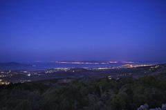 East side of Kos island evening (mario_lem73) Tags: sea panorama island greek lights evening pentax aegean kos greece bodrum k5 dodecanese dodekanissos