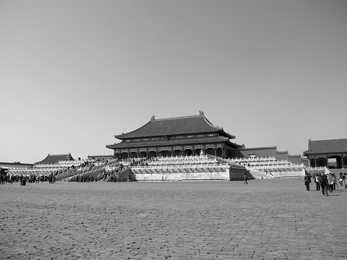 Hall of Supreme Harmony in Black and White