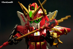 DSC_5914 (sumosam87) Tags: toy photography battle fei sd brave warriors bb gundam zhang gunpla sangokuden