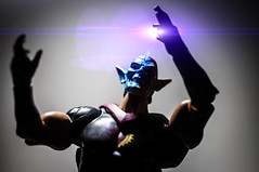 The God of Vengeance (misterperturbed) Tags: dccomics mattel eclipso dcuc dcuniverseclassics lensflarestudio
