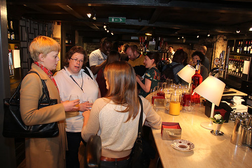 Meet the Alumni reception at Divino Enoteca