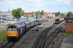 Kidderminster Town Railway Station (Simon Crowther Photography) Tags: heritage history station train nikon flickr br diesel steam restored preserved arkroyal railways steamrailway preservation severnvalley svr severnvalleyrailway kidderminster britishrailways class50 preservedrailway heritagerailway 50135 railwayphotography d7000