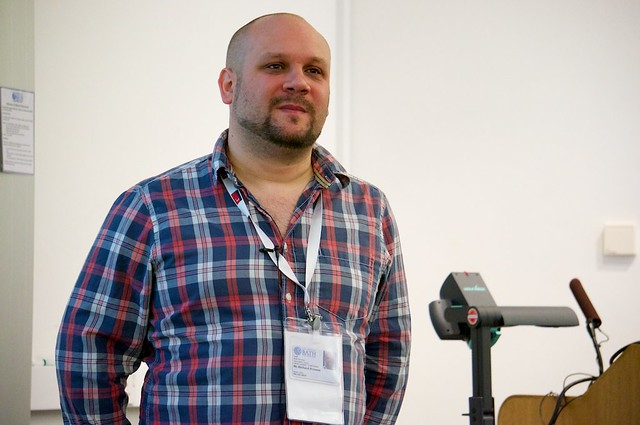 Richard Prowse at IWMW 13