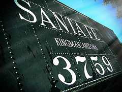 Route 66 - Santa Fe train (grace.aries) Tags: arizona usa santafe america train vintage route66 desert mojave kingman