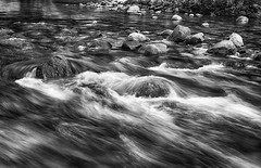 Kings River Close Up BW (rschnaible) Tags: park bw usa white black west river photography us long exposure canyon kings national western sierranevada