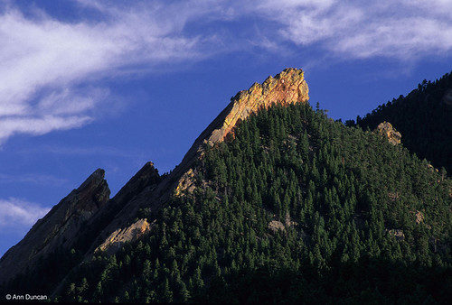Photo - The First Flatiron catches that last of the afternoon light.
