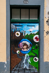 """doors of Funchal • <a style=""""font-size:0.8em;"""" href=""""http://www.flickr.com/photos/58574596@N06/9407021063/"""" target=""""_blank"""">View on Flickr</a>"""