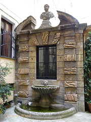 Buonarroti 30 (Via) A 03 (Fontaines de Rome) Tags: roma rome rom fontana fontane fontaine fontaines fountain fountains brunnen bron font fuente fuentes via buonarroti 30