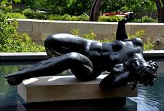 City Garden - St. Louis, Missouri (Adventurer Dustin Holmes) Tags: park sculpture art artwork downtown stlouis parks missouri stl sculptures stlouismissouri citygarden stlouismo urbanparks nudesculpture
