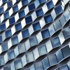 Blue Escher (jmvnoos in Paris) Tags: blue paris france building buildings square nikon bleu 100views 200views escher carré carrés carrée carrées 10faves squarely d700 jmvnoos mvnoos