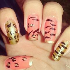 550572_446636672068792_1428752043_n (paulinhagabii) Tags: fashion nailart animalprint nocapricho loveesmaltes unhadasemana clubedoesmalte