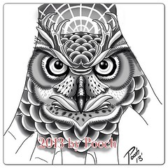 Owl hand for tomorrow #owl #owltattoo #greathornedowl #handtattoo