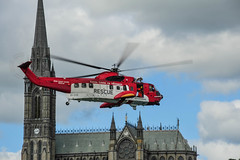 Last Sortie of EI-CXS at Cobh (Jon Mathers) Tags: rescue cobh cocork 117 sikorsky s61 rescue117 eicxs lastsortie