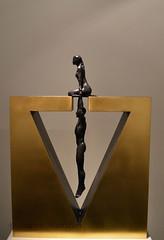 Gravity Female (louisemarston) Tags: uk sculpture london newbondstreet lorenzoquinn halcyongallery gravityfemale