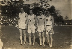 1913 Irish-American Athletic Club of New York track and field 1200yd relay team that set a world record on 26 July 1913, at Celtic Park, NY, with three Olympians (The Happy Rower) Tags: world park new york city nyc irish usa ny club race us athletic team american record aau celtic olympic athlete runner relay wr 1913 olympian 1600m 3000m iaac 1500m thehappyroweryahoocom