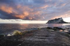 IMG_9128 Evening,Les Basetes,Calpe,Spain (jaro-es) Tags: light sunset cloud luz clouds canon evening abend licht mar meer day cloudy wolken nubes calpe costablanca penyaldifach