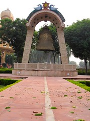 Giant Bell (Mohan.Singh) Tags: temple god delhi religion hindu hinduism deity newdelhi chattarpur chatarpur chhatarpur
