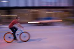 Sssszooom! (docksidepress) Tags: motion blur fall bike mi michigan kitlens september grandrapids nicon d40 2013 1855mmf3556gediiafsdx artprize