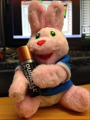 Duracell Bunny & Battery