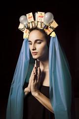 Madonnas (alexis mire) Tags: selfportrait religion domestic series dollartree fabrication womanhood