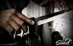 """""""El Afilador"""" (Marco Galindo / SenWeb) Tags: trabajo random manos el rostro perdidos cuchillo afilador profesion senweb"""